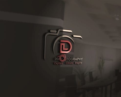 custom logo making for photography business