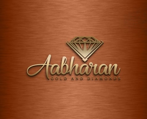 Jewelry custom logo design work