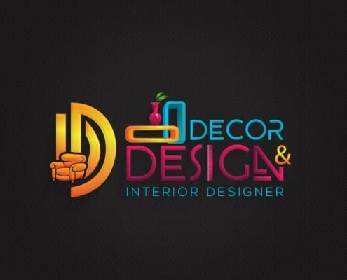 Interior Brand Logo Design