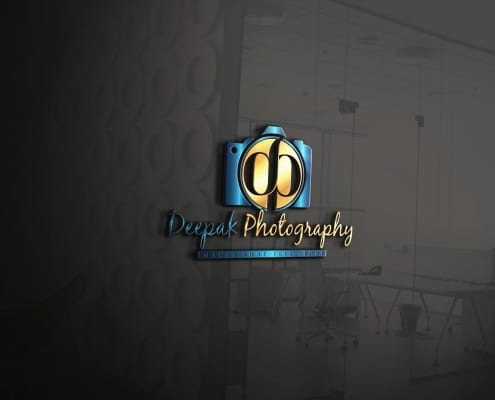 custom logo design for photography business